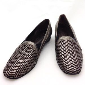 Sesto Meucci Italy Leather Loafers 7.5 @